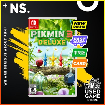 Nintendo Switch Pikmin 3 Deluxe [Chi/Eng]