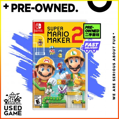 Nintendo Switch Super Mario Maker 2 [US/English] - [Pre-Owned]